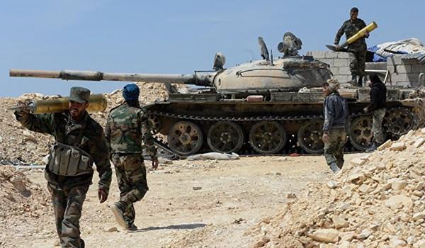 Photo of الجيش السوري يسيطر على محمية التليلة ويواصل تقدمه في بادية تدمر