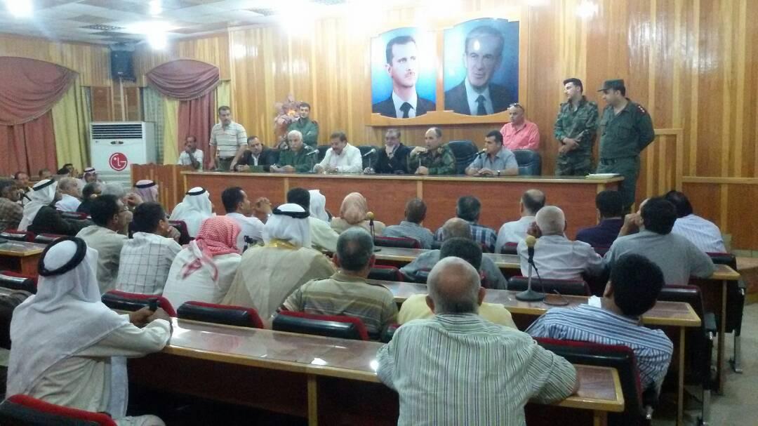 صورة تسوية أوضاع 65 مطلوباً في محافظة الحسكة