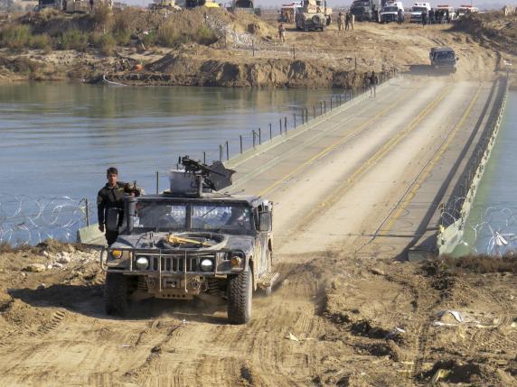 صورة القوات العراقية تحرر 60 بالمئة من حي الزنجيلي بالموصل