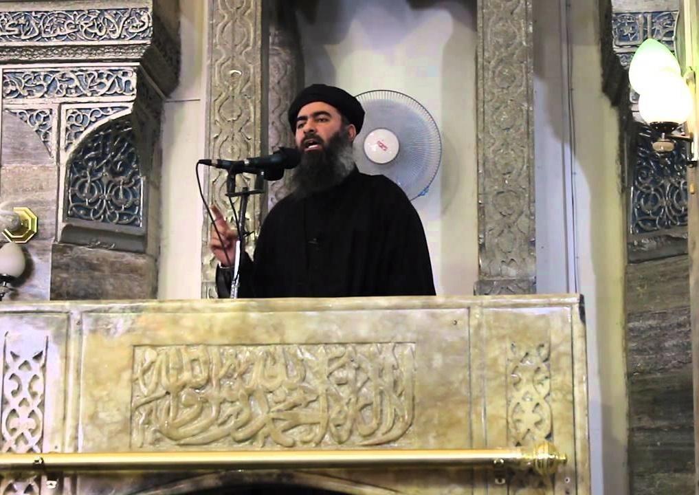 """صورة """"داعش"""" يفجر مقر إعلان البغداي """"خلافته"""" في الموصل القديمة"""