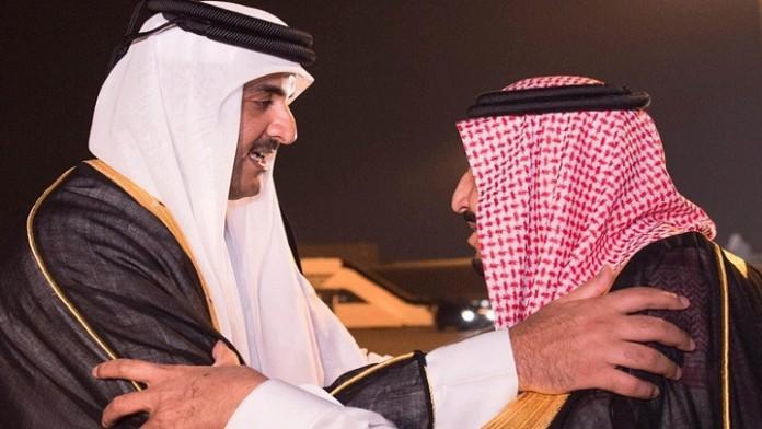 صورة اتصالات دولية تلاحق تطورات الأزمة القطرية