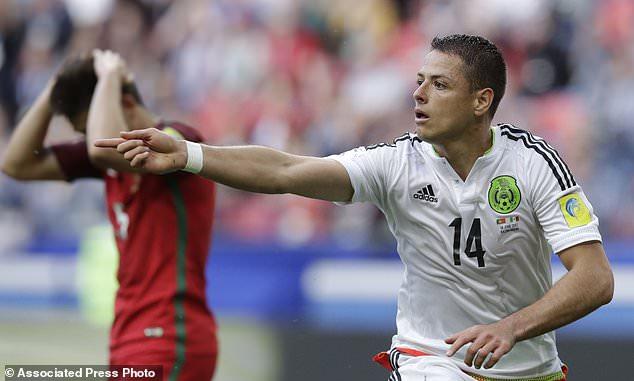 صورة تعادل في الثواني الأخيرة بين المكسيك والبرتغال في كأس القارات