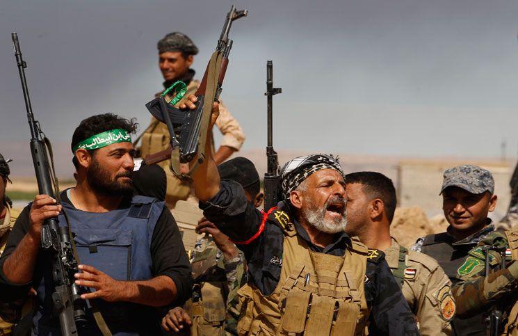 صورة «الحشد الشعبي» العراقي يُسيطر على 85 كم غرب الأنبار ويؤّمن الحدود مع سورية