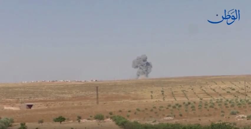 صورة تقدم وتثبيت نقاط للجيش السوري في السلطانية ومناطق أخرى بريف السلمية الشرقي