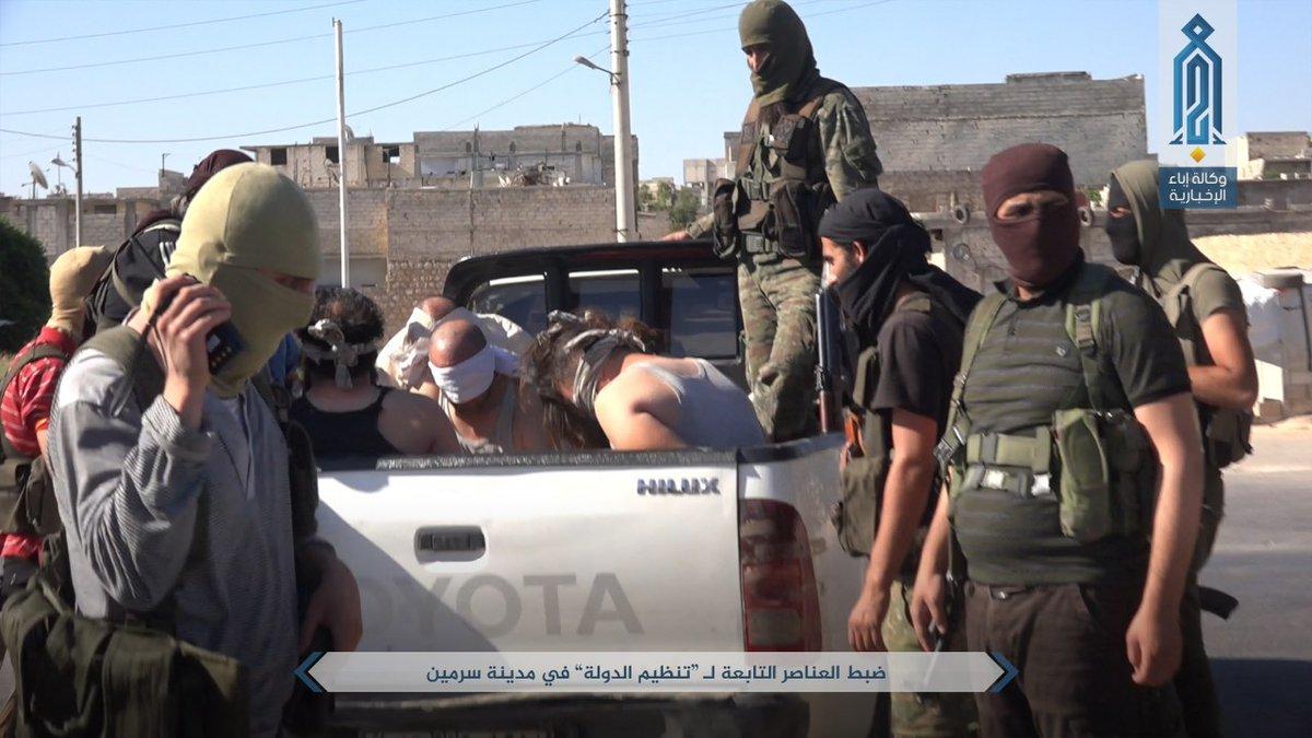 """Photo of """"النصرة"""" تبيّض صفحتها في إدلب على حساب شقيقها """"داعش""""!"""