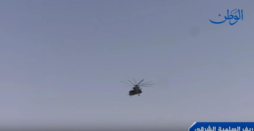 صورة مشاهد جديدة لعمليات الجيش السوري في شرق السلمية