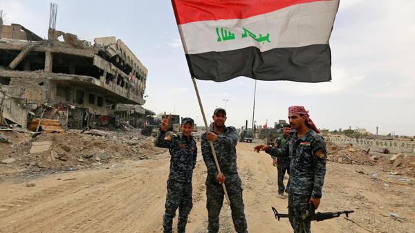 صورة الموصل محررة.. والعبادي يبارك للعراقيين بـ«النصر الكبير»