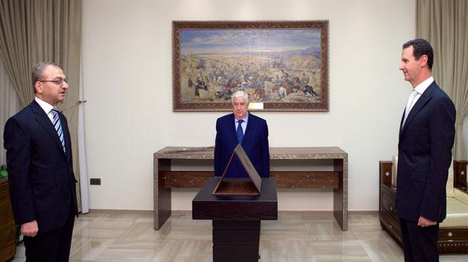 صورة أمام الرئيس الأسد.. سفراء سورية الجدد لدى جنوب أفريقيا وكوبا وأرمينيا يؤدون اليمين القانونية