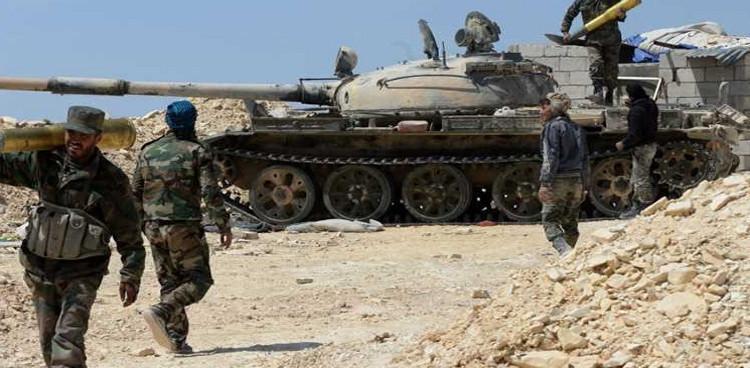 Photo of الجيش يسيطر على تلة العلام الاستراتيجية بريف حمص الشرقي