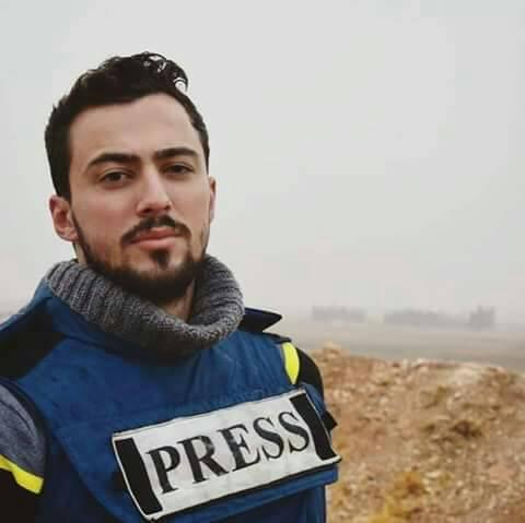 "Photo of استشهاد الزميل خالد الخطيب بنيران إرهابيي ""داعش"""