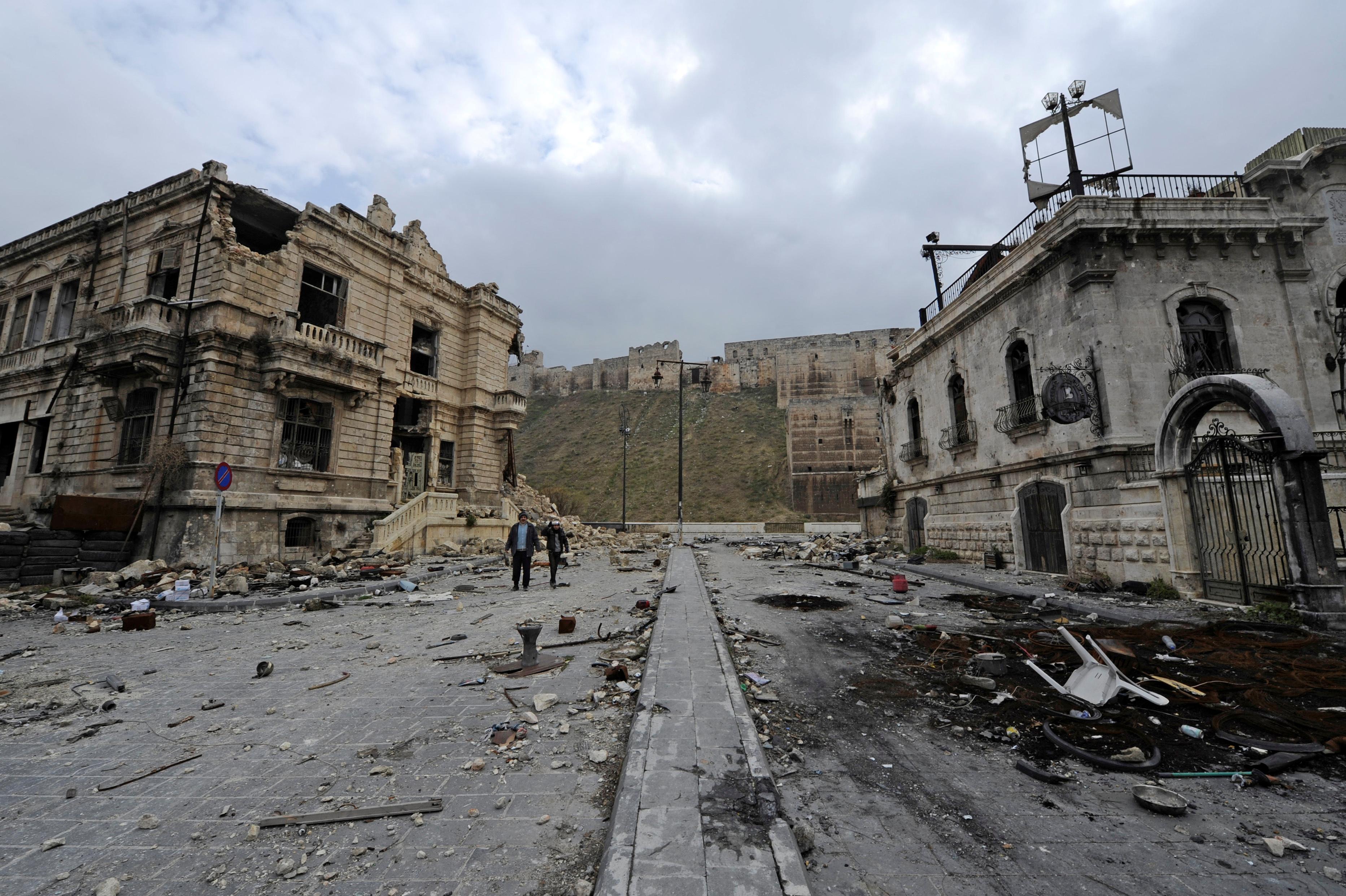 Photo of أضابير حلب العدلية والوكالات أتلفت