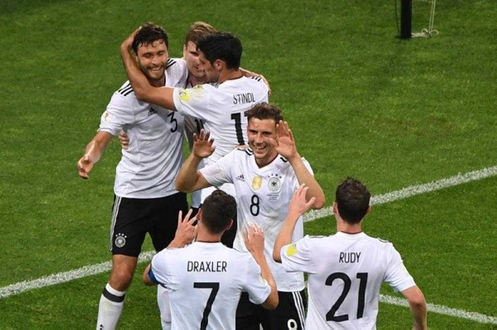 صورة كأس القارات ألمانياً للمرة الأولى