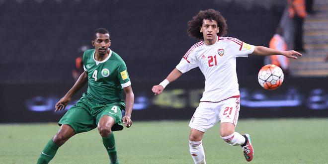 صورة السعودية تسقط على أرض الإمارات وتصعب تأهلها إلى مونديال روسيا