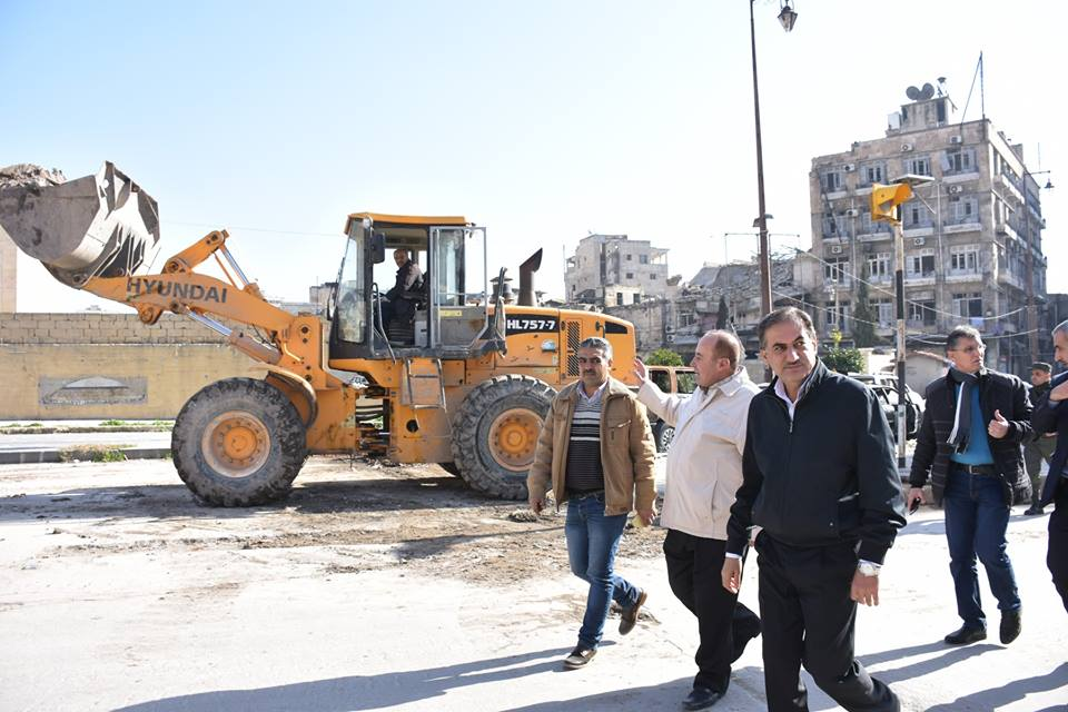Photo of مشاريع الشركات العامة الإنشائية تحت مجهر محافظ حلب