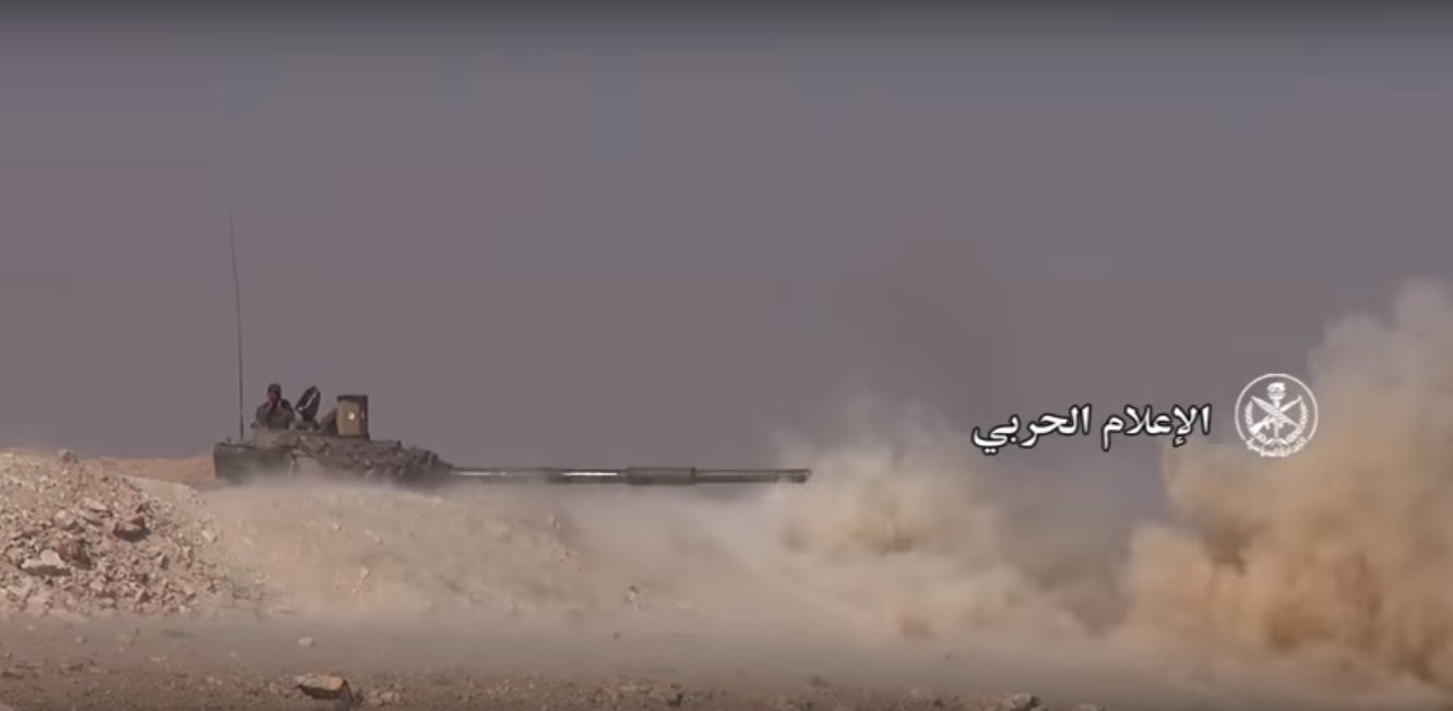Photo of مشاهد من عمليات الجيش في منطقة السخنة بريف حمص الشرقي