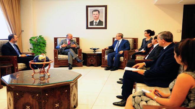 "Photo of المقداد: الحكومة السورية تدعم برامج الـ""يونيسيف"" الموجهة للسوريين وللأطفال بشكل خاص"