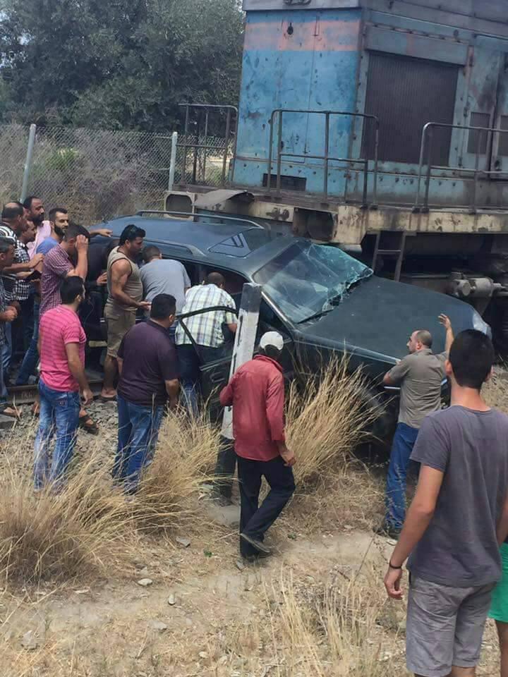 صورة حادث تصادم يودي بحياة معاون مدير عام اسمنت طرطوس
