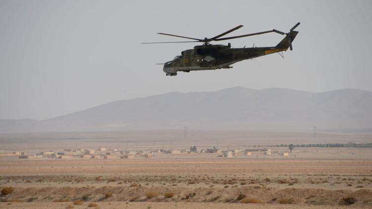 """Photo of الجيش السوري ينفذ عملية إنزال جوي خلف خطوط """"داعش"""" في عمق البادية"""