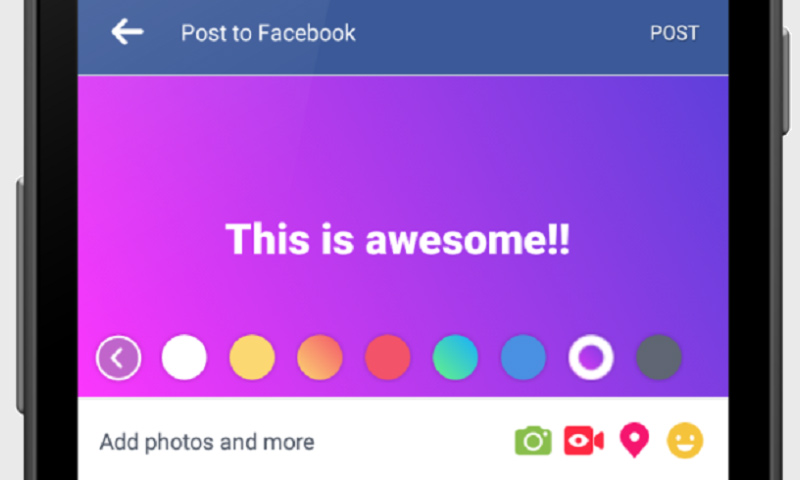 Photo of خلفيات فيسبوك الملونة تصل إلى واتساب