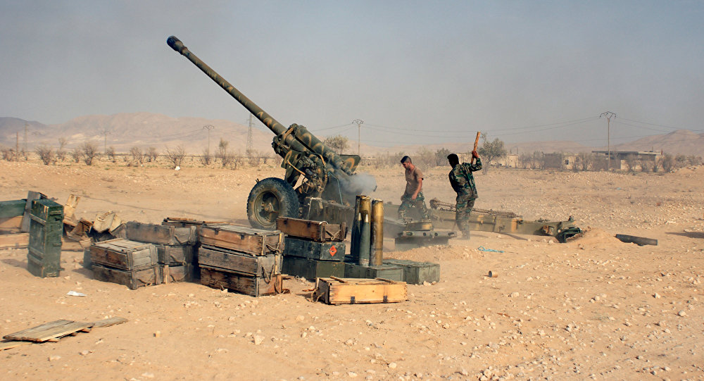 Photo of الجيش السوري يبدأ باقتحام مدينة السخنة بريف حمص الشرقي