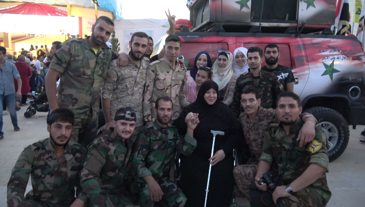Photo of وثائقي جريدة الوطن مع الجيش السوري بين جبهة عين ترما ومعرض دمشق الدولي