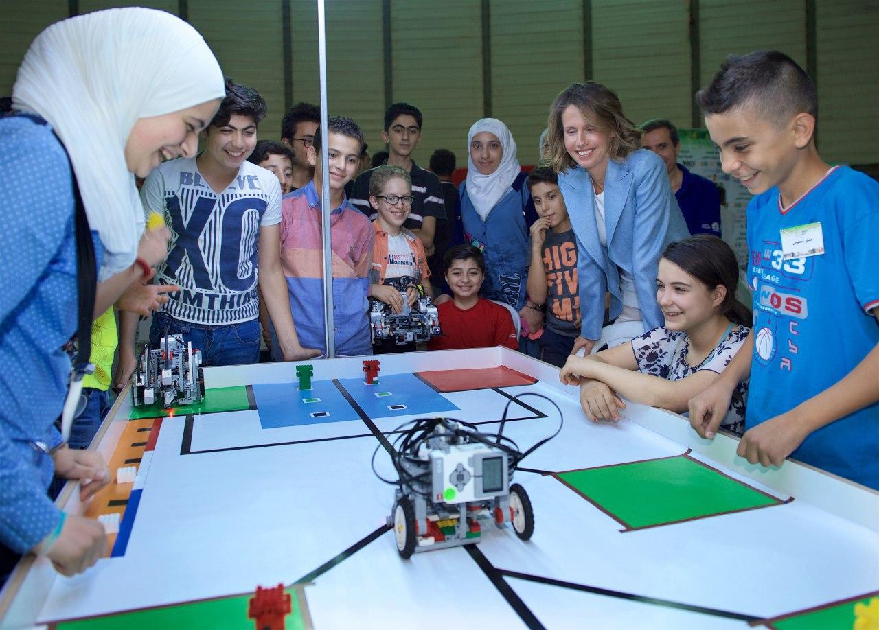 صورة المسابقة الوطنية لأولمبياد الروبوت تختتم فعالياتها بتأهل 7 فرق للمسابقة الدولية