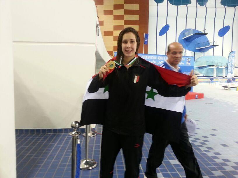 Photo of البطلة السورية بيان جمعة تواصل حصد الميداليات في بطولة آسيا