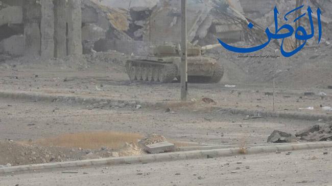 Photo of بالصور: الجيش يبدأ عملية عسكرية على محور جوبر – عين ترما
