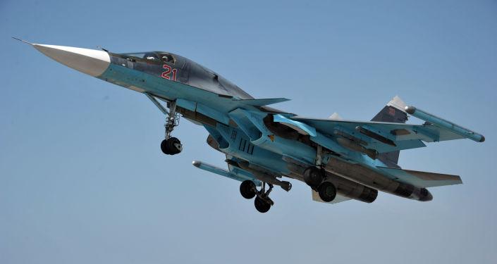"Photo of الدفاع الروسية: طائراتنا تقصف مواقع ""داعش"" على مدار الساعة لتأمين تقدم الجيش السوري"