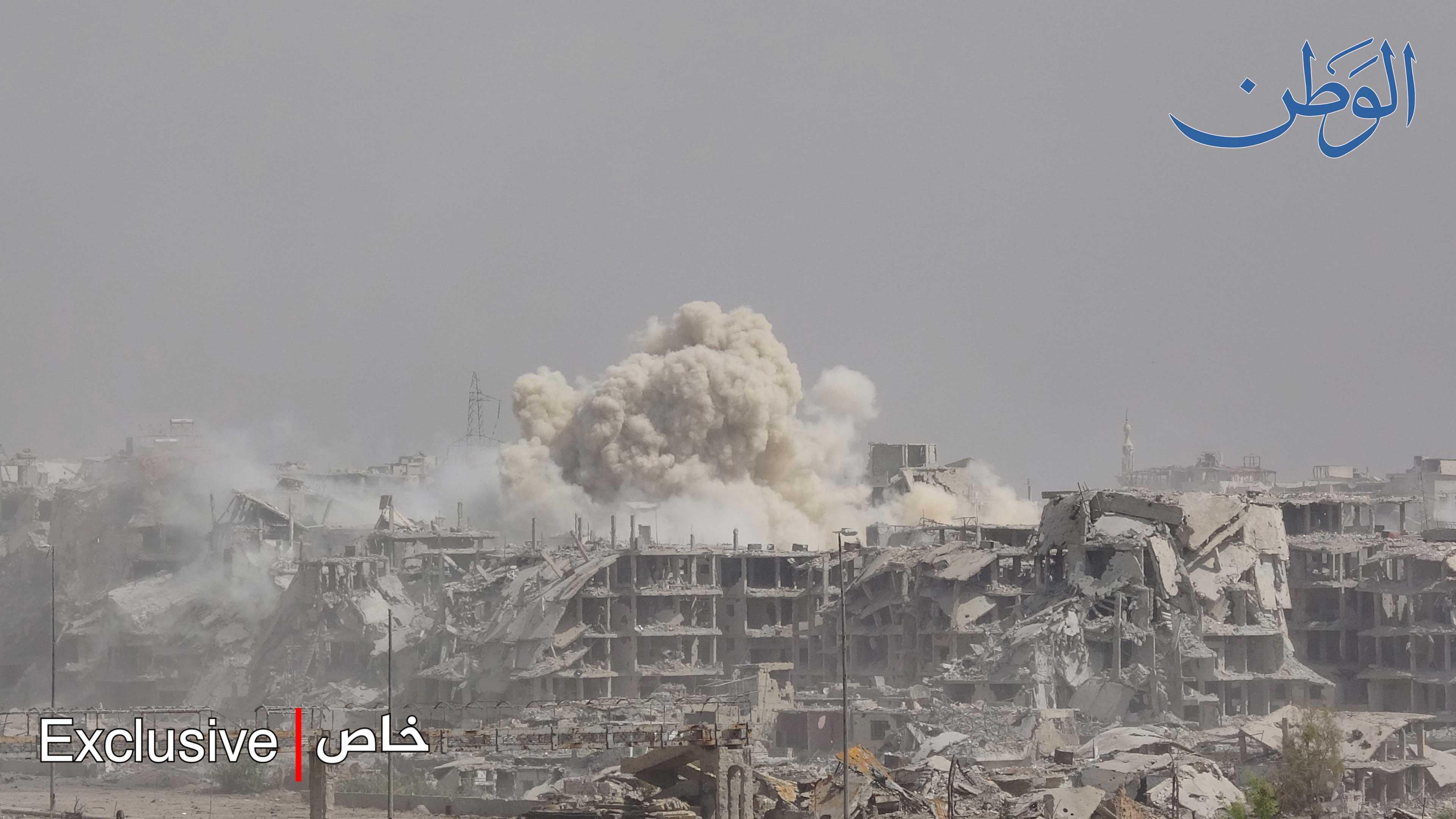 Photo of الوطن ترافق الجيش السوري في عملياته الجديدة على محور عين ترما – جوبر