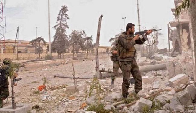 Photo of الجيش السوري يسيطر على عدة بلدات بريف حمص الشرقي