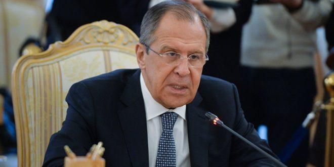 صورة لافروف: روسيا مستعدة لدعم حوار مباشر بين واشنطن وطهران