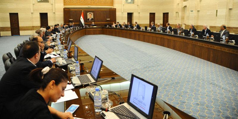 صورة الحكومة تعتمد مشروع قانون الموازنة العامة للدولة بمبلغ 3187 مليار ليرة