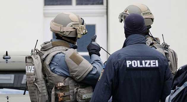 صورة القبض على سوري للاشتباه في إعداده لهجوم إرهابي في ألمانيا