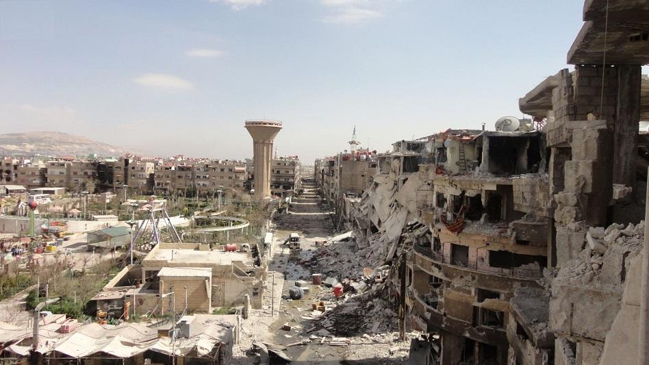 Photo of لجنة لدراسة تنظيم داريا وإدخالها ضمن مدينة دمشق