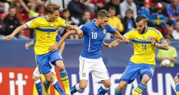 Photo of السويد تحرج إيطاليا وتتغلب عليها بهدف ضمن ذهاب الملحق الأوروبي