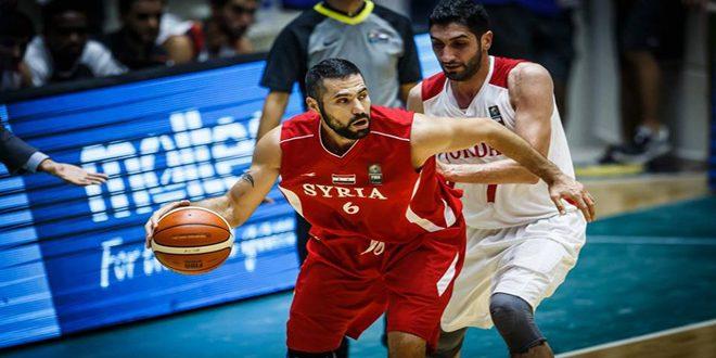 Photo of المنتخب السوري يتلقى خسارة قاسية من الأردن في تصفيات كأس العالم بكرة السلة