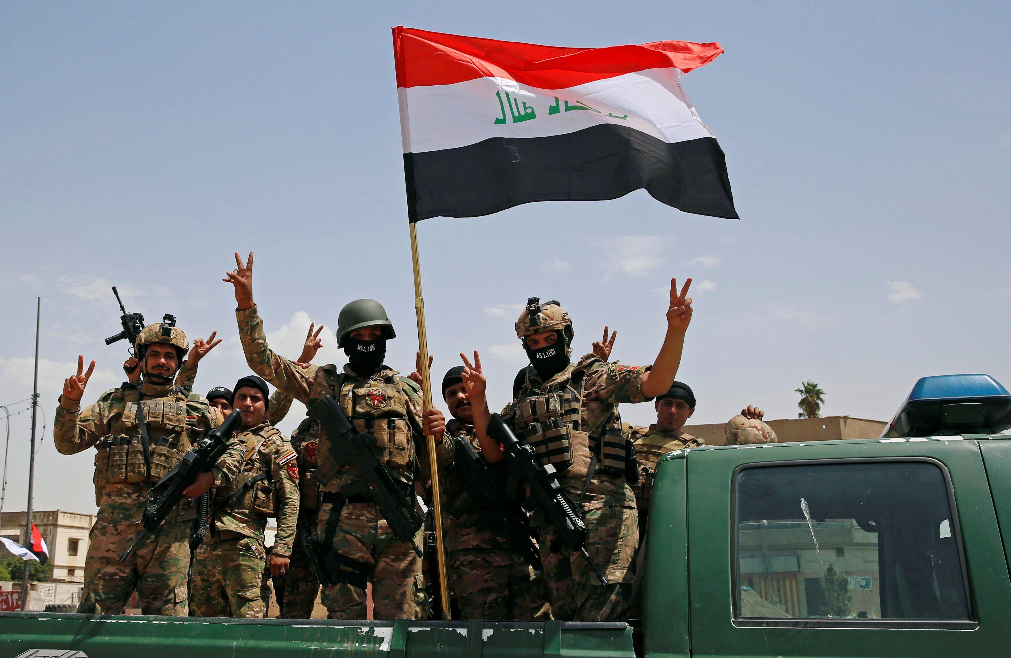 """""""داعش"""" ينتهي عسكريا في العراق"""
