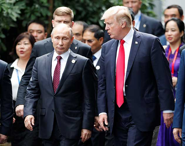 Photo of بوتين وترامب يتفقان على الحل السياسي في سورية