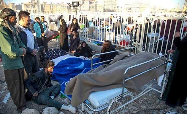 Photo of زلزال مدمر يضرب مناطق حدودية من إيران والعراق .. يوقع مئات القتلى والجرحى