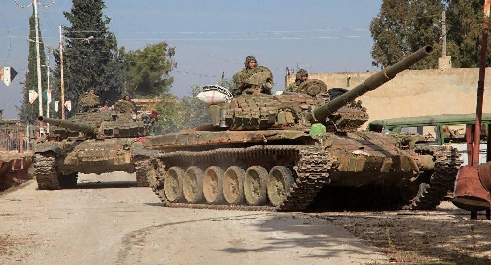 Photo of الجيش السوري يصد هجوماً للميليشيات الإرهابية بريف دمشق الغربي