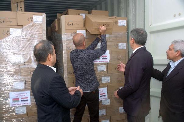 Photo of محافظة اللاذقية تتسلم مساعدات متنوعة من بيلاروسيا