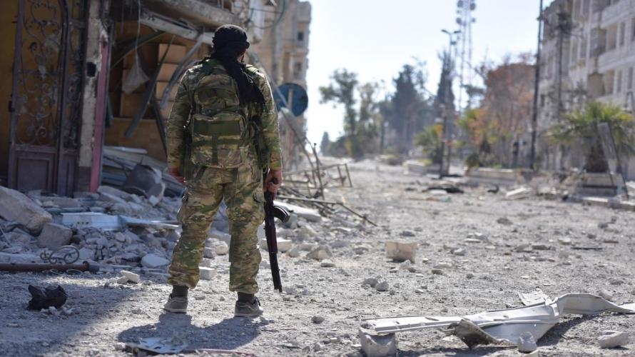 صورة تضارب مصالح الميليشيات يعرقل خروج «النصرة» من الغوطة