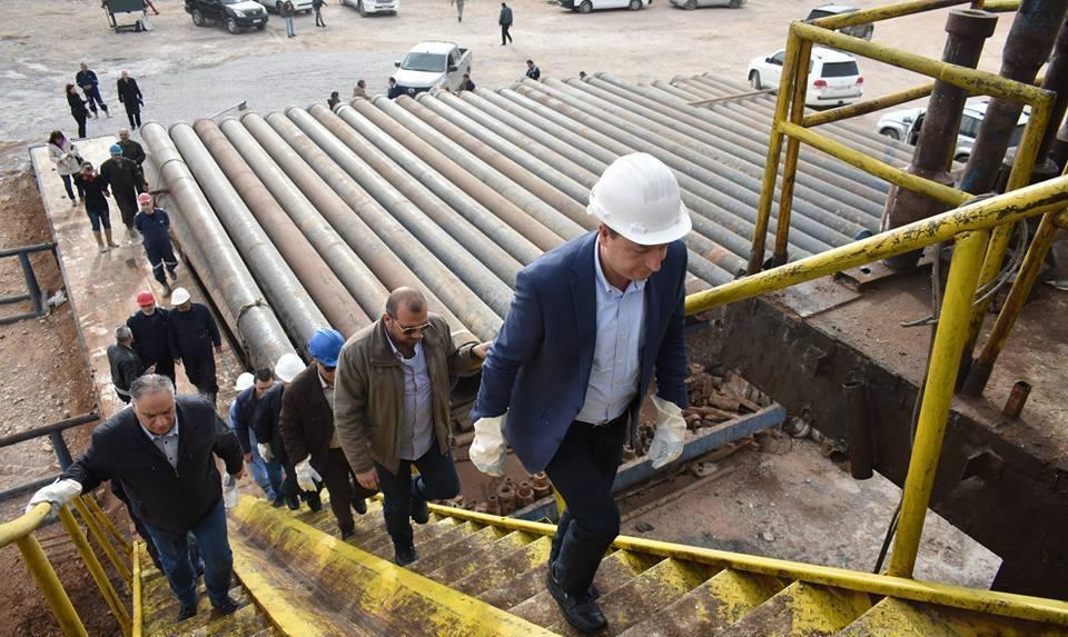 "Photo of تدشين مشروع الربط الكهربائي بين معملي غاز ""إيبلا"" و""جنوب المنطقة الوسطى"""