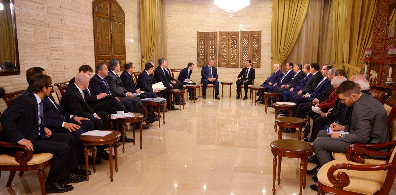 Photo of الرئيس الأسد: الانتصارات على الإرهاب تفتح آفاقا اقتصادية واسعة للتعاون بين سورية وروسيا