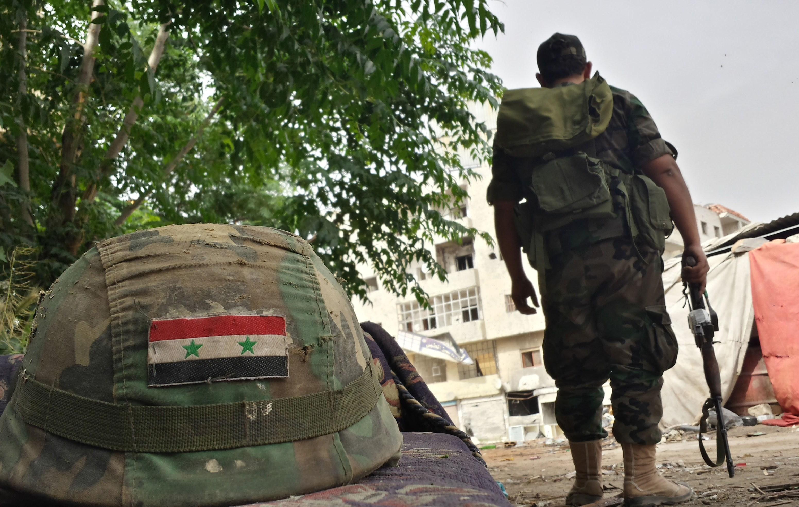 صورة الجيش ينهي عام الانتصارات الإستراتيجية باستعادة الغوطة الغربية