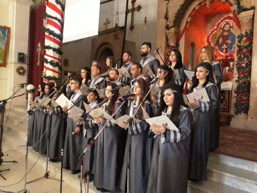 Photo of احتفالات بالحسكة بمناسبة قدوم عيد الميلاد المجيد
