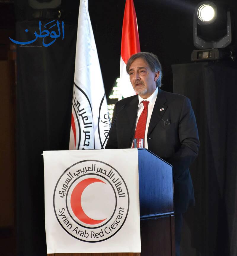 صورة رئيس الاتحاد الدولي للصليب والهلال الأحمر: الحل أصبح قريبا والأوضاع ستصبح أفضل ويجب العمل بشكل أكبر