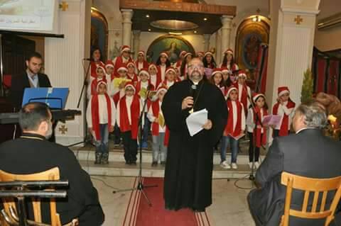 "Photo of صلاة جماعية ""لأجل سورية"" في مطرانية السريان الكاثوليك بحماة"