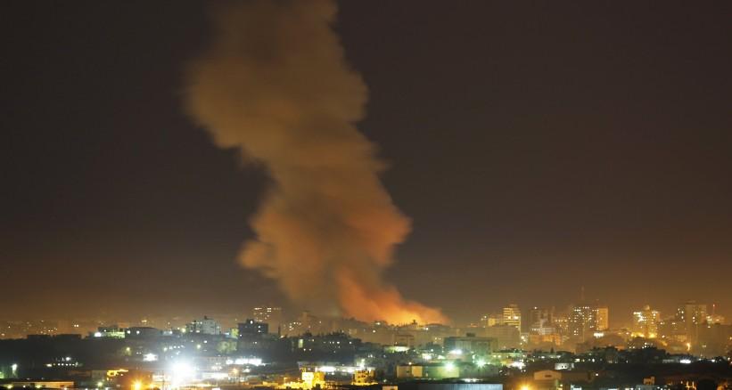 "Photo of غارات ""إسرائيلية"" على قطاع غزة وإصابة 25 فلسطينيا"